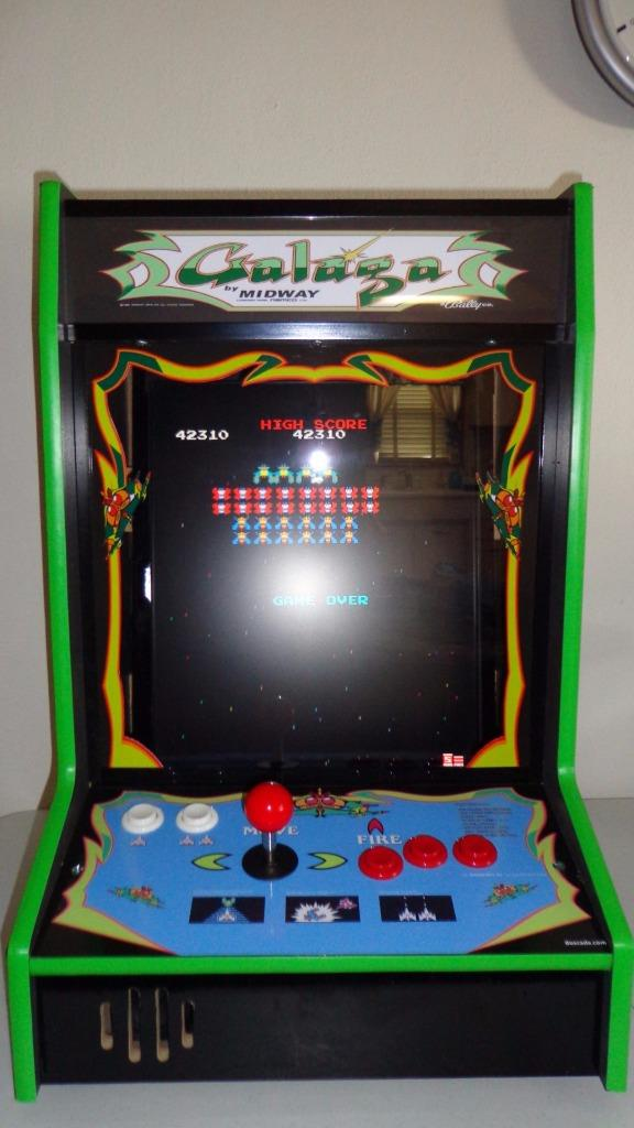how to make a tabletop arcade