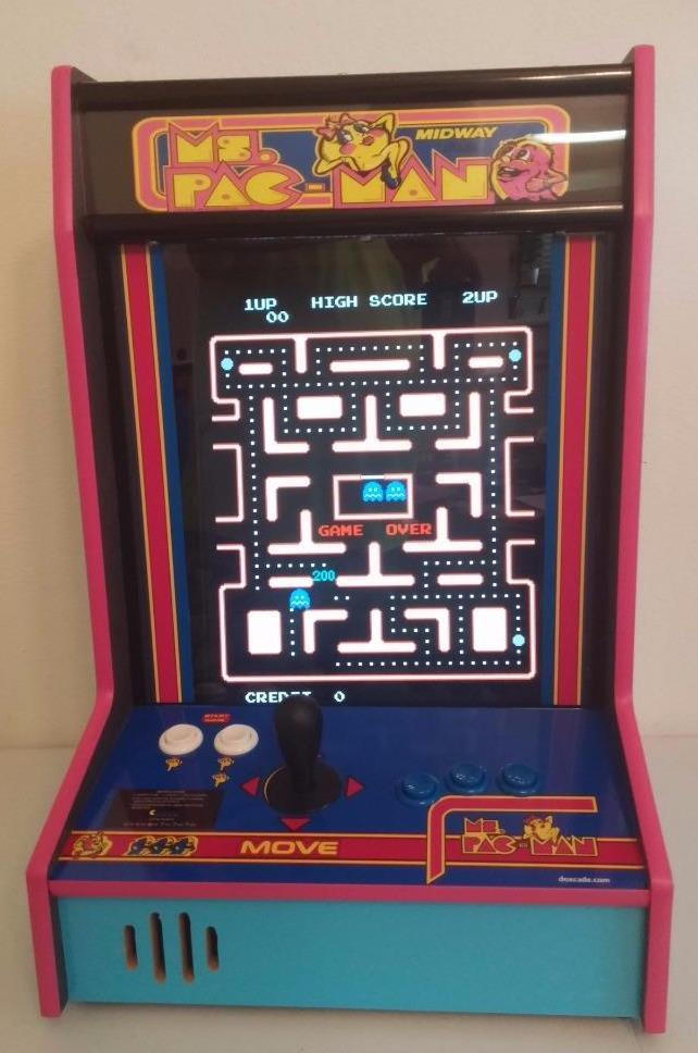 Awesome Ms Pacman Tabletop Ver 2 Download Free Architecture Designs Itiscsunscenecom